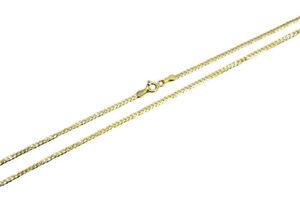 "14k Solid Yellow Gold Cuban Link Chain Necklace 1.5-12mm Men's Women Sz 16""-30"""