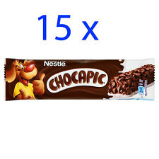 Nestle CHOCAPIC Chocolate cereal bar 15 x 25g Shipping Worldwide