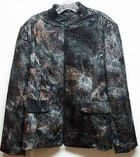 Polyester Animal Print Coats & Jackets for Women