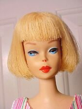 Vint. Barbie 1965 BLONDE AMERICAN GIRL Doll - Hi Color