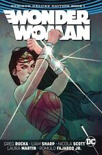 WONDER WOMAN REBIRTH DELUXE COLLECTION BOOK 01 - HARDCOVER
