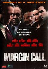 Margin Call  DVD Region 3 *** Import *** /  Paul Bettany, Kevin Spacey