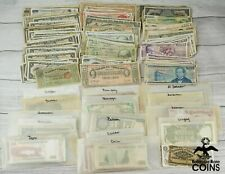Lot of 503: Circulated North, South & Central America Currency Notes