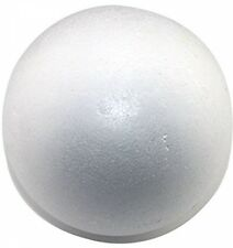 White Balls Round Foam Floral Craft Base Styrofoam Decorations Wedding 12 Pack