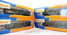 ROCO 'HO' GAUGE RAKE OF 4 ASSORTED DR PASSENGER COACHES(DD2)