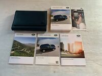 2017 Land Rover Range Rover Sport Owners Manual GUIDE BOOK SET with Case OEM