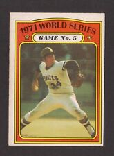 1972 OPC O-Pee-Chee #227 Semi Hi # WORLD SERIES Game 5 Pirates / Orioles NRMT