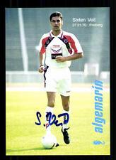 Sixten Veit Autogrammkarte Hertha BSC Berlin 1995-96 Original Sig+A 105771