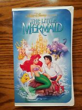 THE LITTLE MERMAID VHS 1990 WALT DISNEY BLACK DIAMOND CLASSIC 913 BANNED COVER