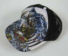 New Skull Grim Leaper Black CAP Hat Baseballcap