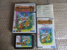 Japanese Sega Megadrive Ragnacenty Soleil Very Good Shape !