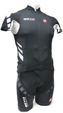 De Marchi EVO Short Sleeve Cycling Kit Men SMALL Black Road Mountain Bike MTB CX