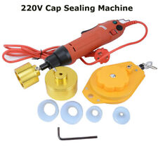 Manual Electric Screw Capper Plastic Bottle Capping Machine 220v Spring Balance