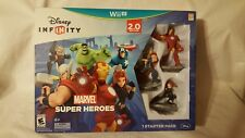 Disney INFINITY: Marvel Super Heroes (2.0 Edition) Video Game Starter Pack - Wii