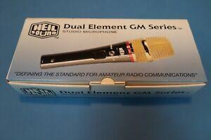 Heil Goldline GM-5 Dual Element Desktop Microphone with Collins Cable