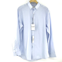 Ben Sherman Men's Size 15-1/2 32/33 Blue Button Down Dress Shirt