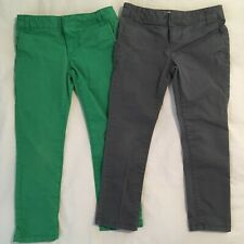 Old Navy The Pixie Pants - Girls Size 6 - Skinny - Gray, Green