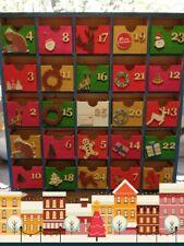 Christmas wooden advent calendar
