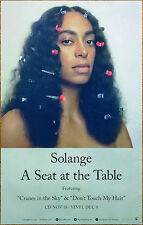 SOLANGE A Seat At The Table 2016 Ltd Ed RARE New Poster +FREE Soul R&B Poster!