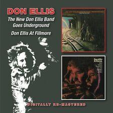 Don Ellis - New Don Ellis Band/Goes Underground/Don Ellis at F [New CD] UK - Imp