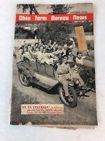 Ohio Farm Bureau News October 1939 Vintage Farming Agriculture Magazine