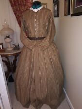 CLEARANCE SAVE 30% Civil War Reenactment Day Dress Size 24 WAS $180 NOW $126