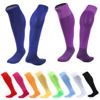 Mesh Football Plain Thicken Towel Bottom Soccer Rugby Socks For Adult Men Women