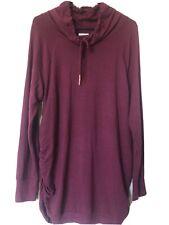 NWT Isabel Maternity by Ingrid & Isabel Long Sleeve Cowl Neck Sweatshirt XL NEW