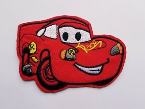 Lightning McQueen Cars Iron On Patch Sew On Transfer