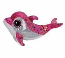 """Ty Beanie Babies Boo's Sparkles Dolphin 10"""" Stuffed Collectible Plush Toy New"""