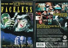 Faceless New DVD From Shriek Show Horror Sci Fi Telly Savalas Helmut Berger