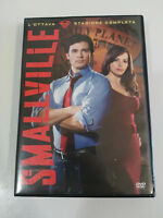 SMALLVILLE OCTAVA TEMPORADA 8 COMPLETA SUPERMAN - 6 X DVD CASTELLANO ENGLISH