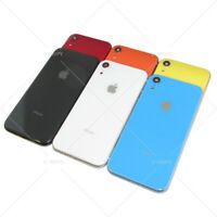 """For Apple iPhone XR 6.1"""" New Housing Back Glass Chassis Frame Battery Door Cover"""