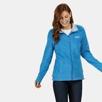 Regatta Women's Clemance II Full-Zip Fleece - Blue Aster Size 18