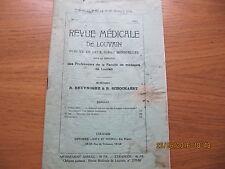 Revue Médicale de Louvain N°12 1933 Attention aux di-éthyl