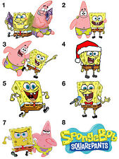 Spongebob Iron On Transfers A4 A5 A6