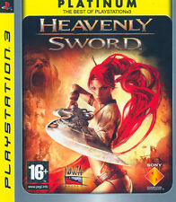 Heavenly Sword Platinum PS3 Playstation 3 IT IMPORT SONY COMPUTER ENTERTAINMENT