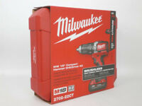 Drill Driver Kit Milwaukee 2702-22CT M18 1/2 in Li-Ion Compact Brushless Hammer