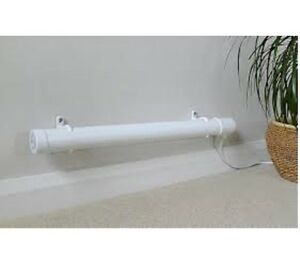 HYCO TUBULAR HEATER 4 FOOT FOR KENNEL, GREENHOUSE, SHED, CARAVAN, GARAGE