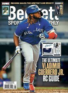 AUGUST 2021 Beckett Sports Card Monthly VLADIMIR GUERRO JR SHIPS IN BOX