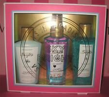 Victoria'S Secret In Paradise With Love Sky Bright Gift Box Mist Body Wash New