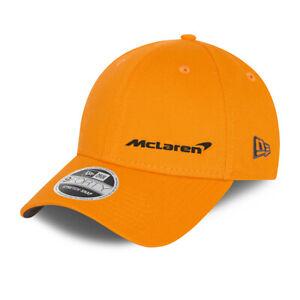 McLaren F1 Adults Essentials logo cap - 2021 - Papaya - Clearance price