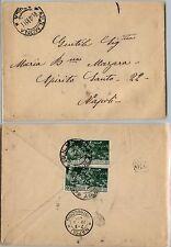 REGNO-Due 25c(277) CENTENARIO FERRUCCI - Busta Sulmona 21.10.1930
