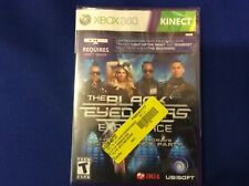 The Black Eyed Peas Experience Microsoft Xbox 360 Brand New Factory Sealed T-3