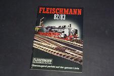 Alter Fleischmann Katalog 1982/83 H0 Rallye N