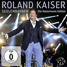 ROLAND KAISER - SEELENBAHNEN-DIE KAISERMANIA EDITION 3 CD NEU