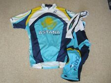 Astana Trek Italian cycling jersey and bib shorts [Sz: L-XL]