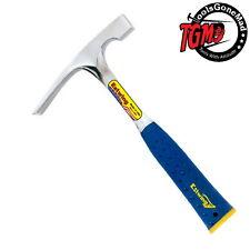 Estwing E3-16BLC 16oz Bricklayer Hammer Vinyl Shock Reduction Handle & End Cap