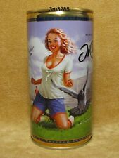"""Zhiguli"" №24 Pin-up empty beer can Limited Edition Russia NEW"