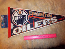Edmonton Oilers NHL Hockey Team 30 x 12 Felt Pennant, made in the USA,older